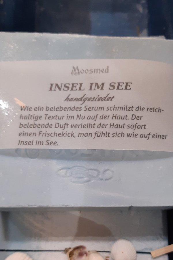 Naturseife 100g Insel im See