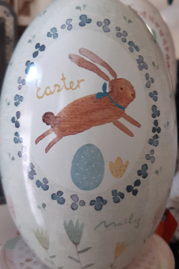 Osterei Metall - Happy Easter